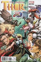 MIGHTY THOR #22  Chin Marvel Comics Vs Capcom Cover B Variant Jason Aaron