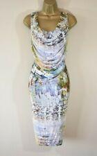 £1105 NEW VIVIENNE WESTWOOD RED LABEL M Watercolour Print Corset Party Dress