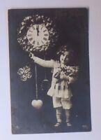 """""""Neujahr, Kinder, Mode, Uhr"""" 1911   ♥ (48913)"""