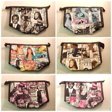 Wholesale Lot of 6 Magazine Cover Collage Coin Purse Cosmetic Pouch Indiana
