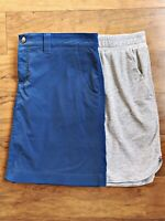 Lot Of 2 Eddie Bauer Travex Skort Toad Co Swiftly Trail Skirt Women's Size Large