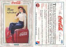 R@R@ AND ORIGINAL CARD U.S.A.*COCA COLA, SECOND SERIES-N.120*- NEW,PERFECT-N.361