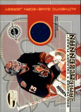 2003-04 (FLAMES) Pacific Invincible Jerseys #4 Jamie McLennan Jsy