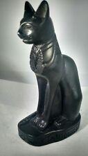 Egyptian Cat With Pharaoh Collar figurine