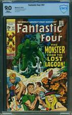 Fantastic Four #97 CBCS 9.0 (CGC peer) -- 1970 -- Kirby. Monster Lost Lagoon