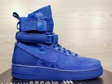 Nike SF Air Force 1 Game Royal Blue Fashion Sneaker Boot 864024-401 Size 9.5