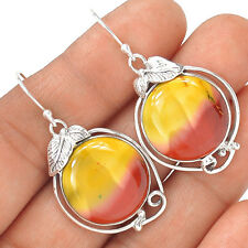 Mookaite 925 Sterling Silver Earrings Jewelry EE6567