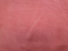 New listing 1 yd Rose Cotton Corduroy Fabric Wide Wale Apparel 6 Wale