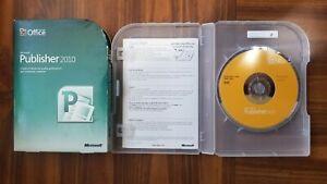 Microsoft Publisher 2010 Full Version RETAIL