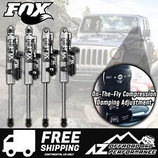 "Fox 2.0 Performance Series iQS Shocks 2.5-4"" Lift For 07-18 Jeep Wrangler JK"