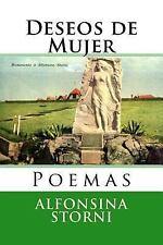 Nuestramerica: Deseos de Mujer : Poemas by Alfonsina Storni (2016, Paperback)