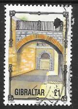 GIBRALTAR SG 706 VERY FINE USED; 1993 ARCHITECTURE.