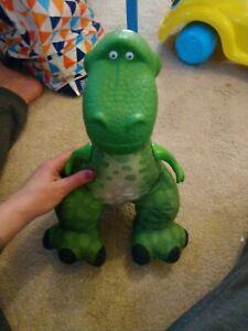 Disney Pixar Toy Story Fisher-Price Squeaker Roar Rex Vinyl & Plush Large Toy