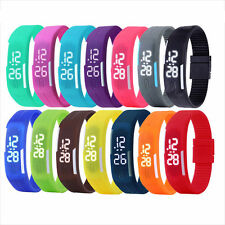 Multifunction LED Sport Electronic Digital Wrist Watch For Child Boy Girl Kids