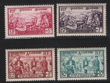 Algeria 1954 Orleansville Earthquake set Sc# B76-81 NH