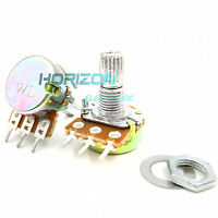10pcs Potentiometer Knurled Shaft Linear Rotary Taper 100K Ohm B100K Best