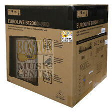 """Behringer B1200d Pro 12"""" Compact Subwoofer Powered Sub 713757159715"""