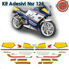 Kit Adesivi Moto Honda Nsr 125 Rothmans 1992 Pista Racing Stickers Decalco Decal