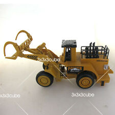 1/50 Tractor with Front Loader & Pliers Log Wood Grab Farm Vehicle Sound Light