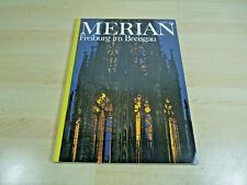 Zeitschrift Reisemagazin MERIAN - Freiburg im Breisgau / Heft