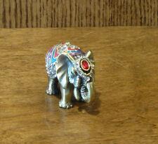 "Jeweled Trinket Box #J817 ELEPHANT,  1.5"" NEW/Box From Retail Store, Welforth"