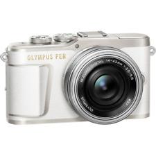 A - Olympus PEN E-PL9 Digital Camera + 14-42mm Lens - White