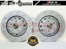 PAIR OF AUDI RS3 8P 2011-2012 UPGRADE FRONT BRAKE DISCS 370MM x 32MM 8P0615301C
