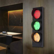 Vintage Creative 3-Light Remote Control Traffic Light Indoor LED Wall Sconce