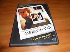 Memento (DVD, Widescreen 2001) Guy Pearce, Carrie-Anne Moss Used OOP