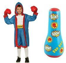 Punching Exercise Karate Bag Kids Boxing Toy Children Inflatable Bop Bag Sport