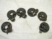 "Set 6 Antique Dowel Rod Tenon Cutting Plane Brace Wood Tool 3/8-7/8"" Hand Cutter"