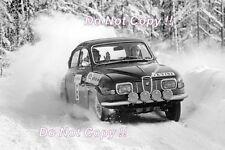 Simo Lampinen Saab 96 V4 KAK Rallyt Sweden 1969 Photograph