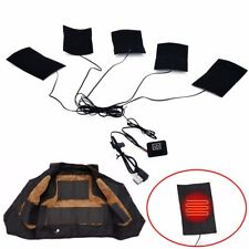 1 Set Electric Heating Pad Thermal Clothes Heated Jacket Mobile Warming Gear