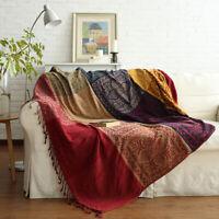 Orientalische Tagesdecke Wohndecke Wendedecke Kuscheldeck Sofa Couch150x190cm