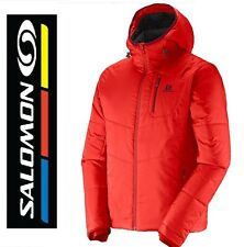 NWT Salomon Jacket - Windproof, Insulated Hooded Men's XL