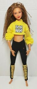 Barbie BMR 1959 Made to Move Doll Long Braids AA African American articulated