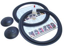 "Complete Infinity 12"" SM-122 Speaker Foam Repair Kit w/ Logo Caps - 2INF12-comp"