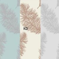 Holden Decor Fawning Feather Metallic Wallpaper 3 Colours