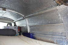 Camper Van insulation, double foil. 15m2 3 Rolls Free Postage