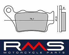 225101330 RMS pastiglie freno POSTERIORI APRILIACAPONORD 1200 Rally12002015>