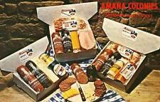 AMANA IA Amana Colonies Meat Shop 3 diff postcards Smokehouse Tower