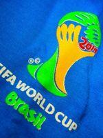 NEW 2014 BRAZIL BRASIL FIFA WORLD CUP HOODED JACKET ITALY ITALIA AZZURRI MEN XL