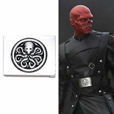 Captain America The First Avenger Red Skull Hydra Belt Buckle Props Halloween