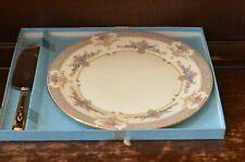 MINTON - Gorgeous Vintage Unused Persian Rose Plate and Cake/Pie Server