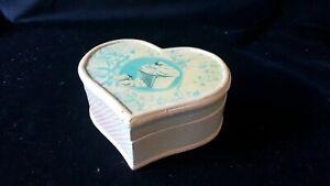 Shabby Chic Cupcake Heart Shaped Box