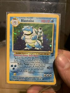 BLASTOISE 2/130 Holo Base Set 2 Pokemon Card MINT