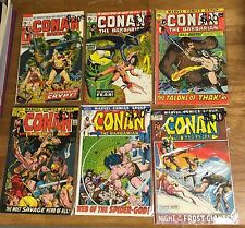 BRONZE AGE LOT: Conan The Barbarian Issues 8, 9, 11, 12, 13, 16, Annual 2...
