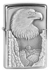 ZIPPO Feuerzeug EAGLE GRAND CANYON Emblem Trick-Zippo Adler NEU OVP Sammlerstück