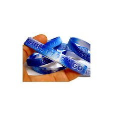 50 THIRSTY FOR GOD Christian Silicone Wrist Bands Bracelets  - John 4:14