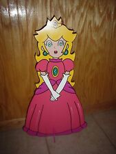 Mario Brothers Princess Peach standup children's birthday party decorations